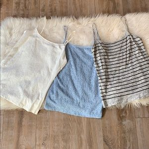 Ann Taylor and Loft tanks
